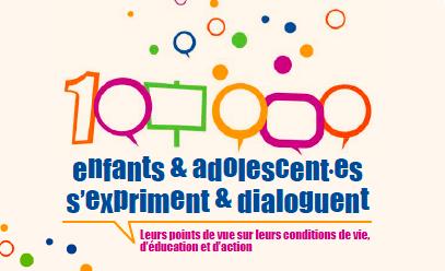 100 000 enfants et adolescent•e•s s'expriment et dialoguent: Les premiers enseignements